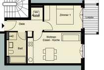 Bild 0172-3261193, 4 Zimmer, Balkon, Abstellraum, Gemeinschaftssauna, Aufzug, TG