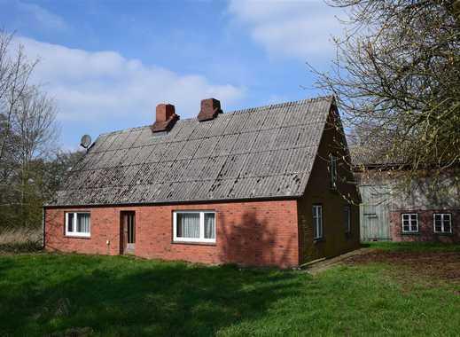 Wieder frei! Stark sanierungsbedürftiges Bauernhaus mit gr. Scheune und 1,4 Ha Land
