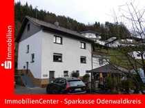 Bild Viel Platz für die Großfamilie! Großes Wohnhaus mit Doppelgarage, Carport, Terrassen und Bachlauf