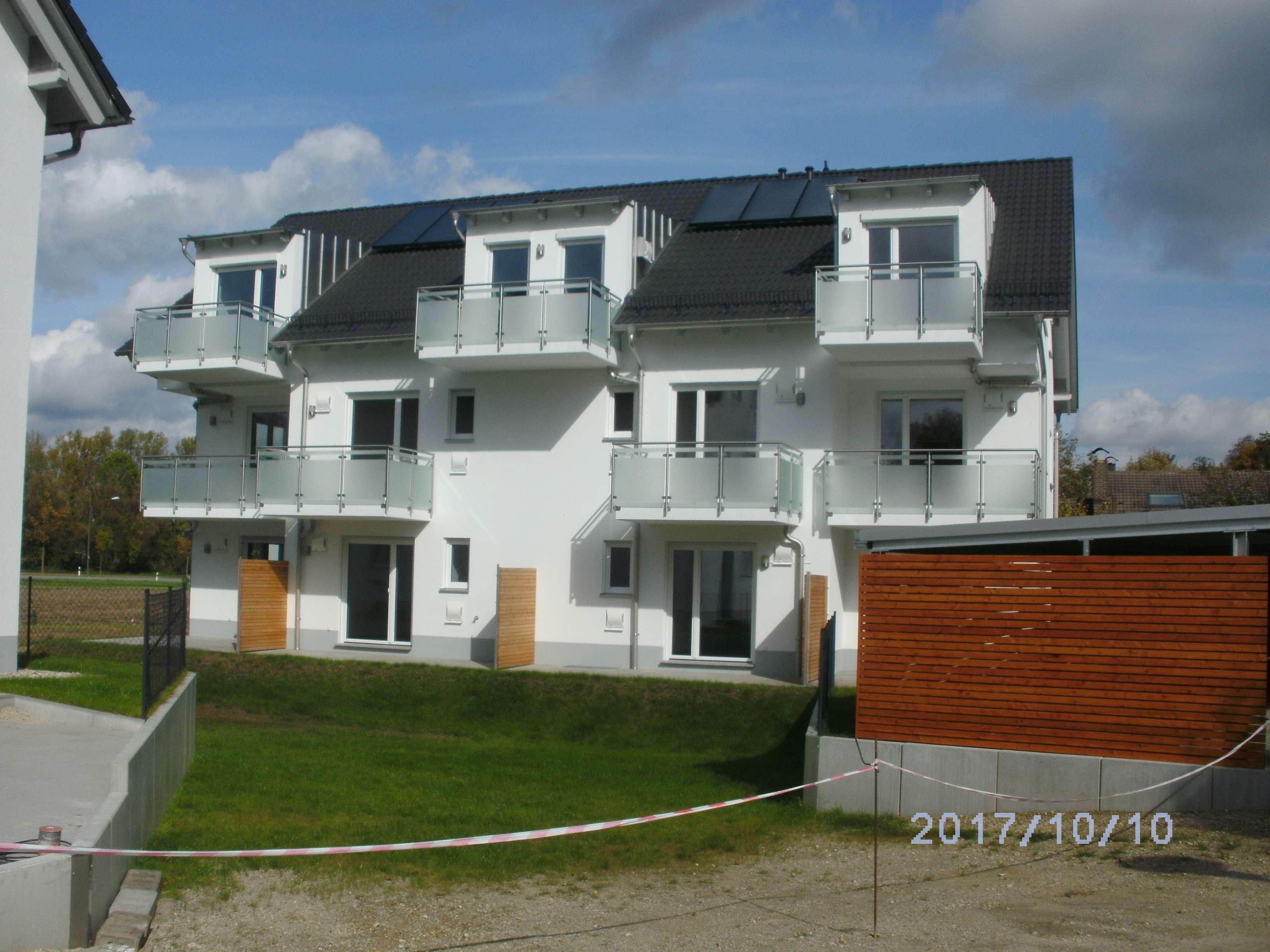 2-Zi. Appartement mit großem Balkon, ca. 40 m² ; Neubau aus 2017, ab 01.12.19, Landshut Schönbrunn in Schönbrunn (Landshut)