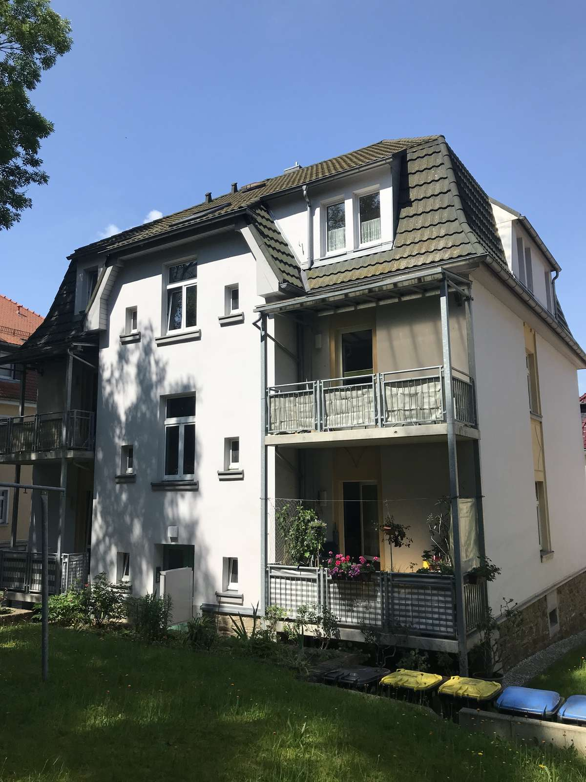 Fiedlerstraße 8 Garten
