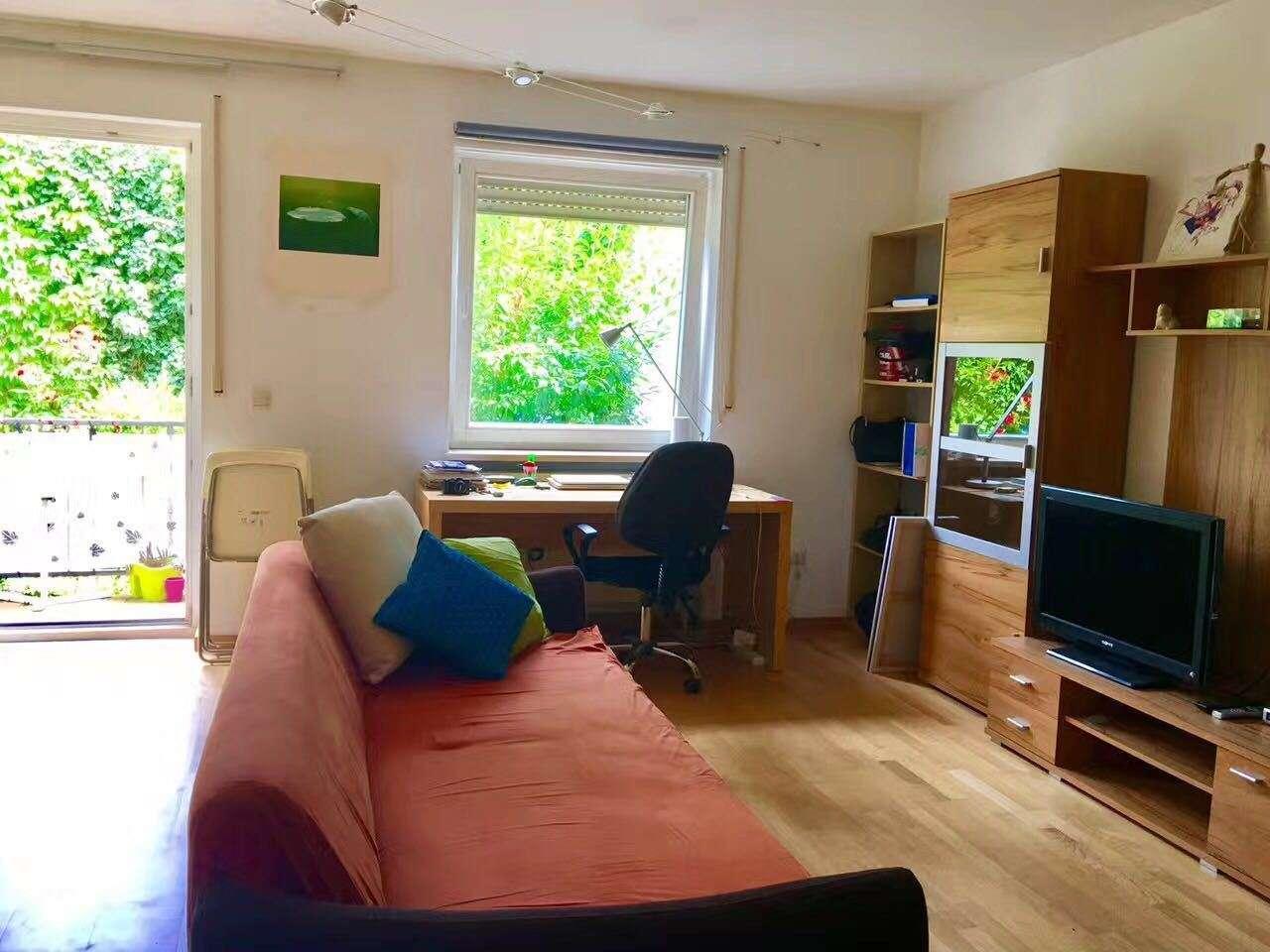 Schöne, geräumige ein Zimmer Wohnung in Bamberg, Insel