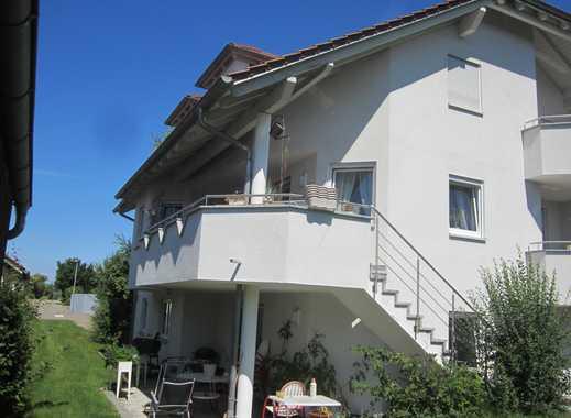 Freundliche 4,5-Zimmer-Erdgeschosswohnung mit Balkon und EBK in Mietingen