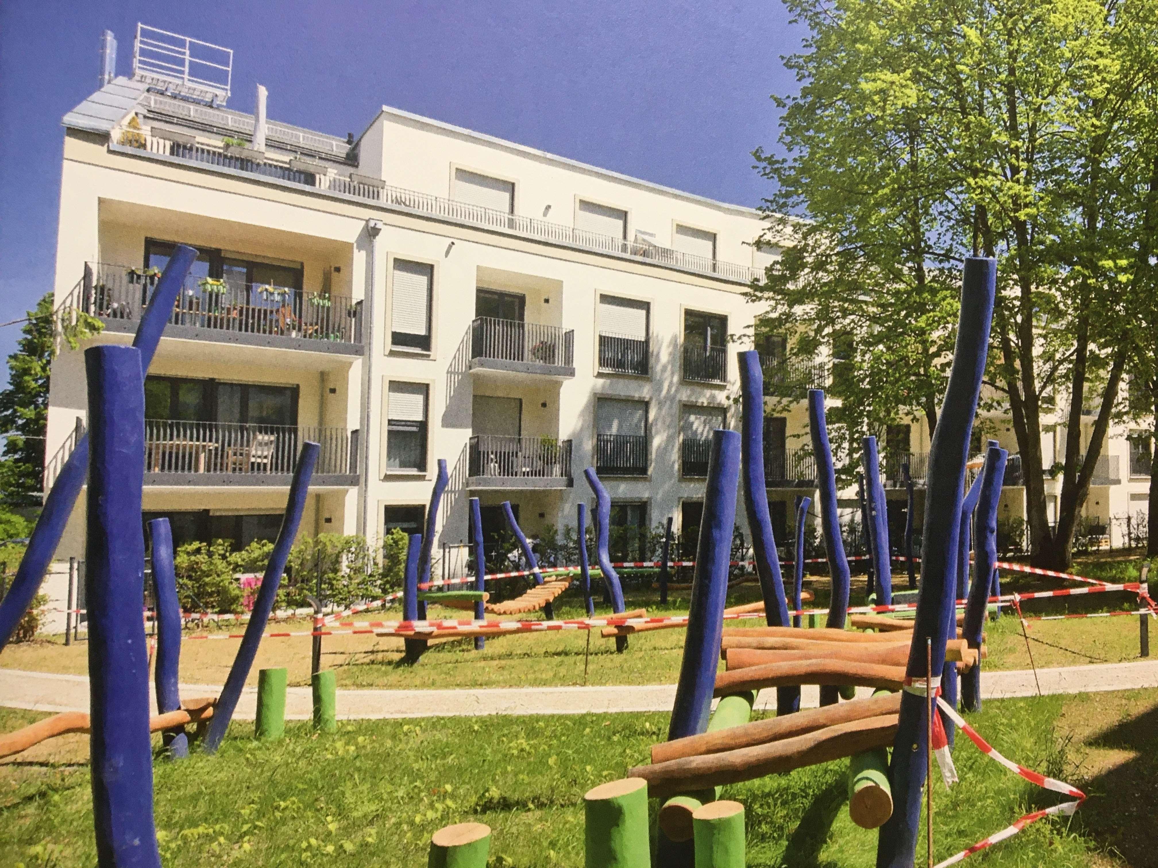 Exklusive,Neubau-3-Zimmer-Wohnung mit 2 großem Balkon in Berg am Laim/Trudering, München in Berg am Laim (München)