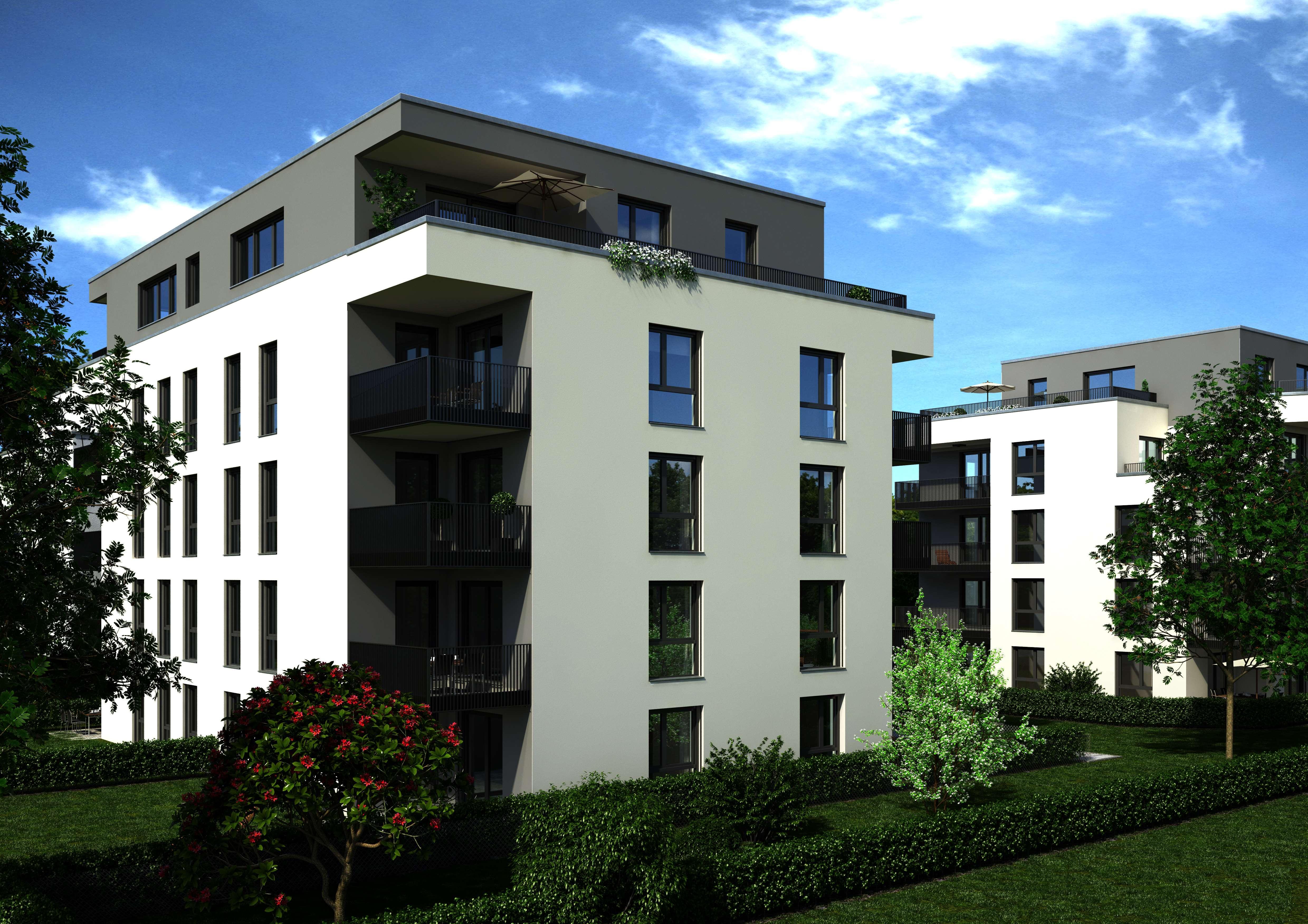 Erstbezug mit Küche und großen Balkon: exklusive 3-Zimmer-Wohnung in Neusäß in Neusäß