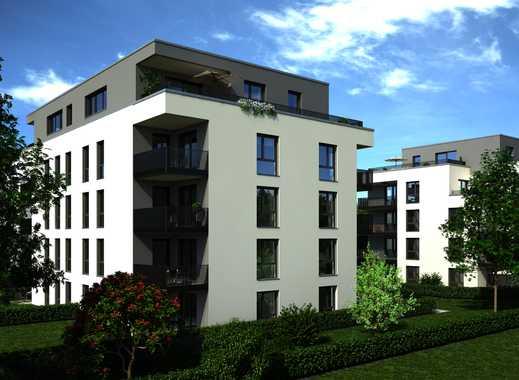 Erstbezug mit Küche und großen Balkon: exklusive 3-Zimmer-Wohnung in Neusäß