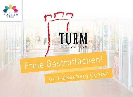 Gastroflächen à la carte - individuelle Größen variabel teilbar - im neuen Falkenberg Center!