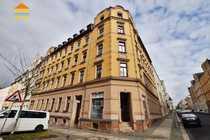 Langjährig vermietete 3-Raum-Wohnung mit großem