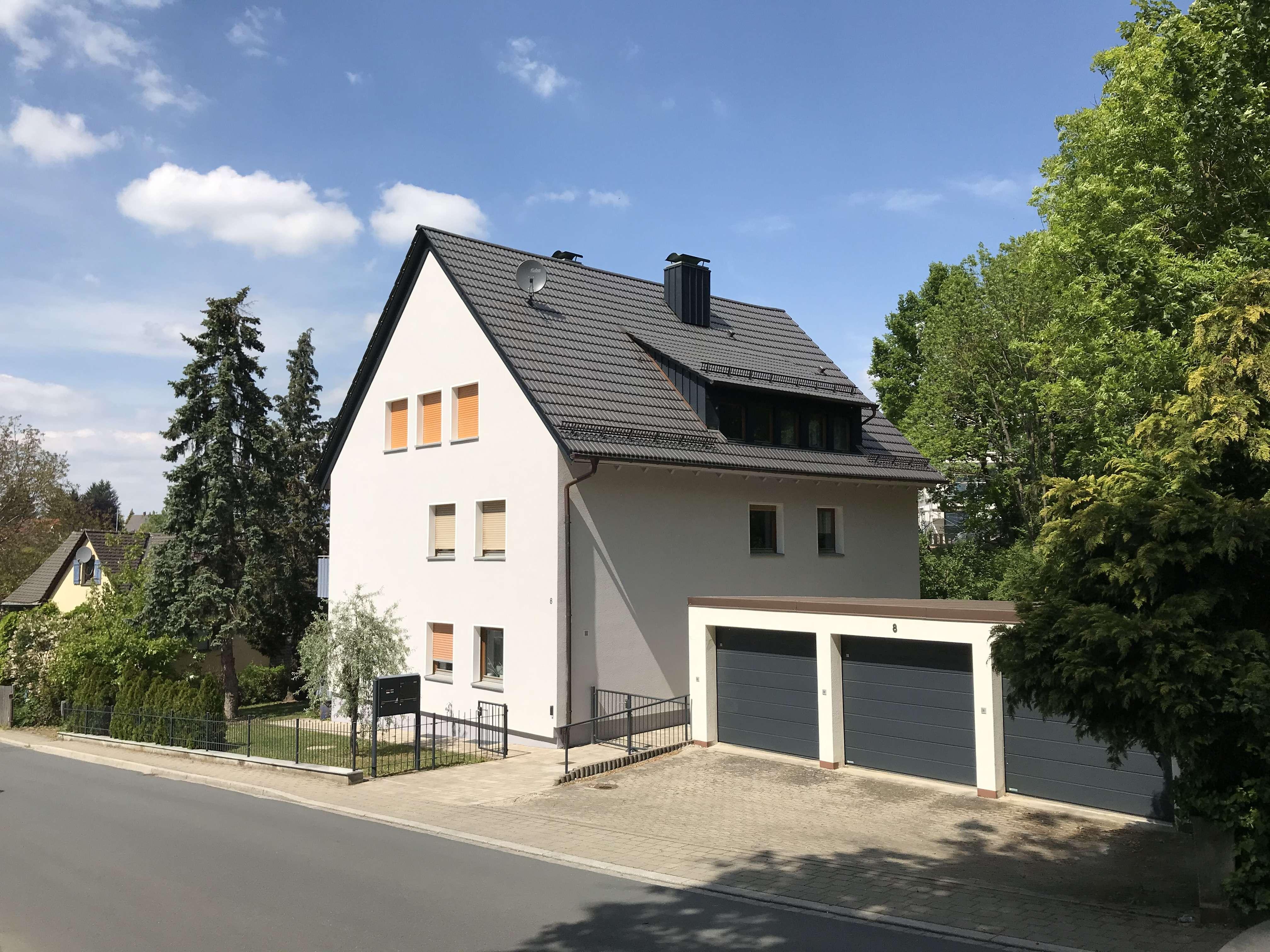 Gehobene 3 Zimmerwohnung im historischen Kern von Heroldsberg in