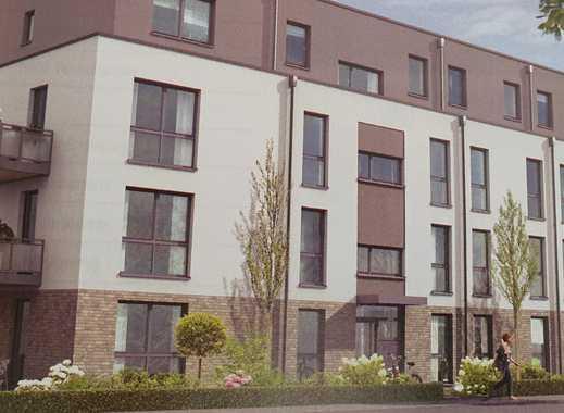 Neubau 86qm 4-Zimmer-Wohnung in Hürth mit EBK, Balkon, Keller, TG-Stellplatz