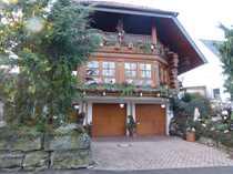 Leben mit natürl Holz Stamm-Block-Haus