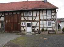 Schotten-OT Fachwerkhaus m Scheune u