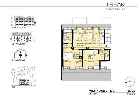 Neu ausgebautes Dachgeschoss in Alt-Perlach in Perlach (München)