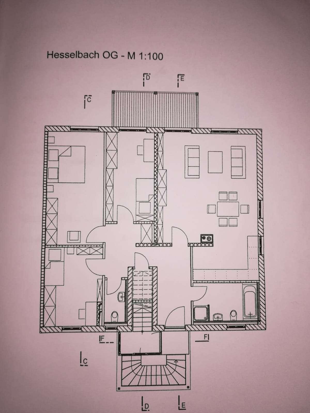 Stilvolle, geräumige und neuwertige 4-Zimmer-Wohnung mit Balkon in Markt Schwaben in