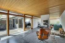 Moderner Bungalow im Atrium-Stil in