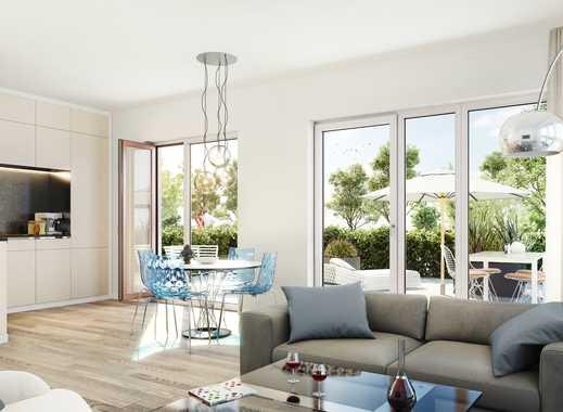 PANDION PENTA 2.BA. - Gartenwohnung mit zwei Bädern und Hauswirtschaftsraum
