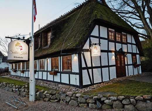 Restaurant / Cafe & Gästezimmer in modernisierter Reetdachkate