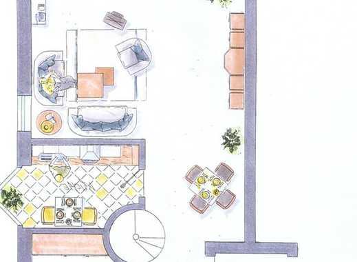 Helle, ruhige Maisonette- Gartenwohnung mit viel Komfort