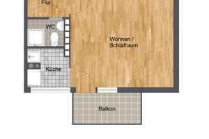 1 Zimmer Wohnung in Wolfenbüttel (Kreis)