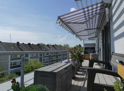 Penthousewohnung mit Blick über Heerdt und gehobener Ausstattung