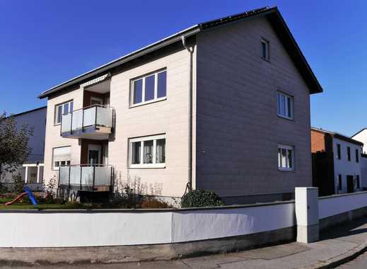 Erstbezug nach Sanierung mit Balkon: ansprechende 3,5-Zimmer-Wohnung in Plattling