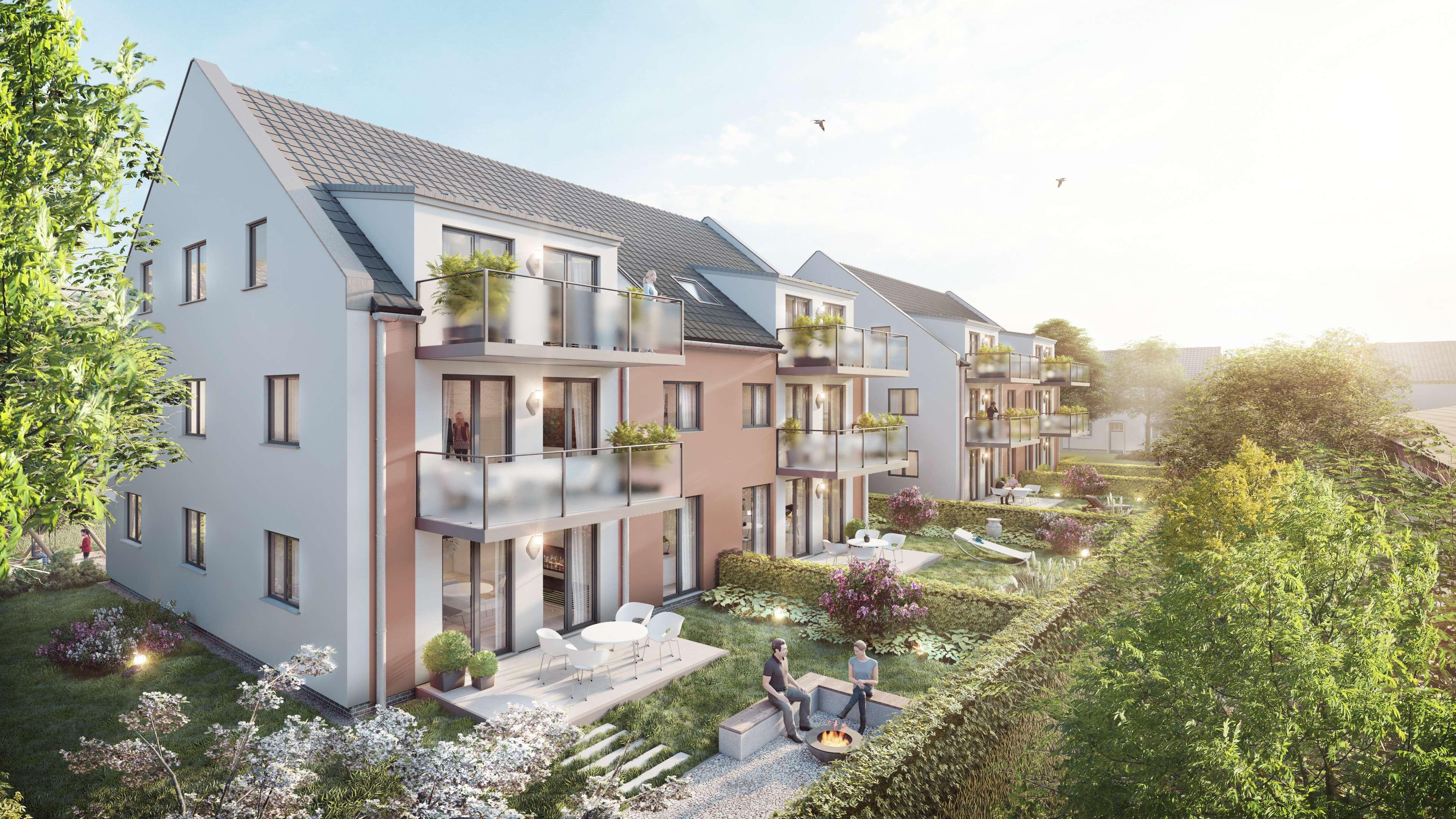2 Zimmer Neubauwohnung mit großem Balkon in Moosburg an der Isar