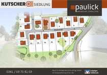 Baugrundstück in Leipzig-Breitenfeld - hier ist