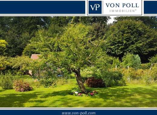 VON POLL Kiel: Individuelles Einfamilienhaus mit Einliegerwohnung in Waldrandlage !
