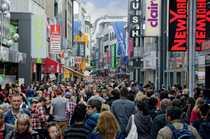 Top 1a-Shoppinglage Hohe Straße
