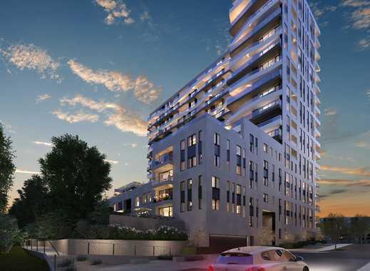 Luxus 3-Zimmer-Wohnung mit Concierge-Service in Axis, Europaviertel, provisionsfrei