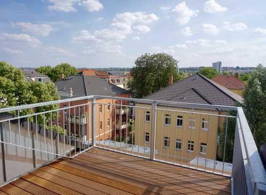 WOHNTRAUM in Dresden - Hochwertige 6-Zimmer-Maisonette! Dachterrasse - EBK - Parkett - !
