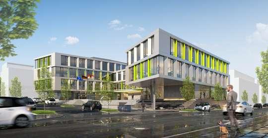 von Neubau-Projekt! Ihr Neues Büro am Phönixsee!