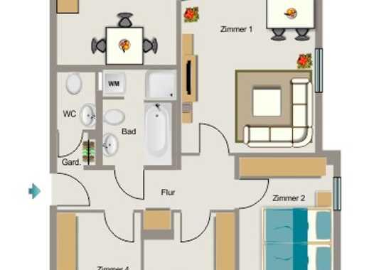Exklusive 4-Zimmer-Wohnung mit zwei Balkonen in Sürth, Köln