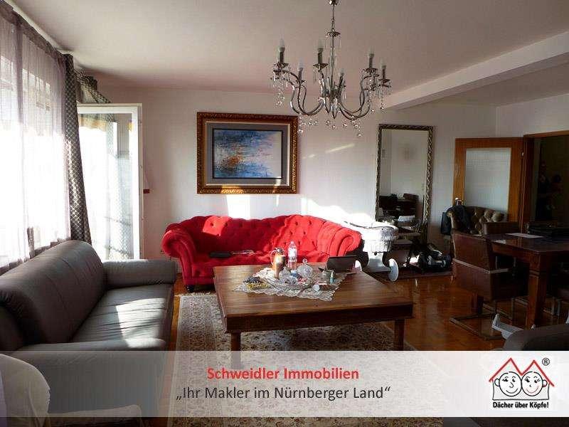 Großzügig Wohnen in bester Lage: 3,5-Zimmer-Wohnung mit großem Balkon in Nürnberg St. Jobst
