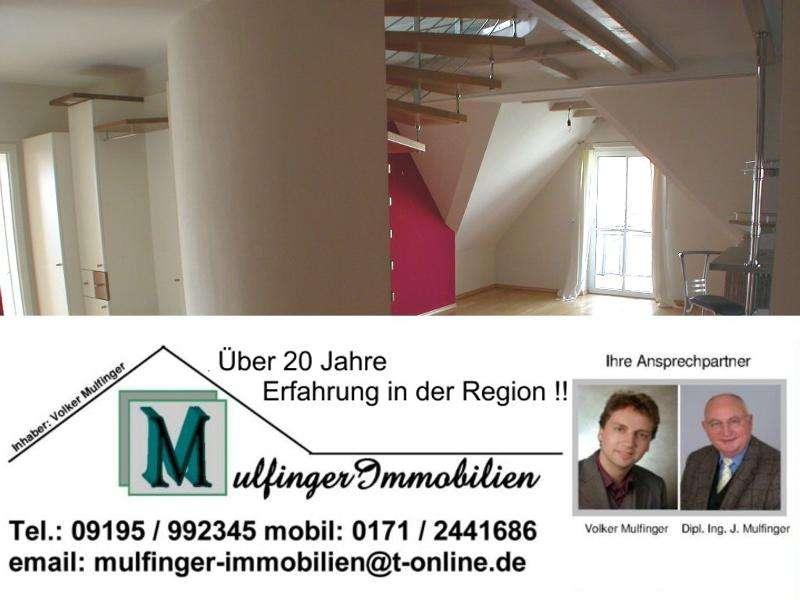 4 Zi. Wohnung in DG / Galerie mit Garten, Balkon und Garage in 96178 Pommersfelden OT