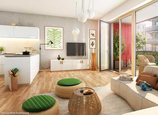 3-Zimmer-Gartenwohnung - Hier ist der Kompass auf ein gesundes Wohnumfeld ausgerichtet!