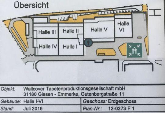 Grundriss schematisch