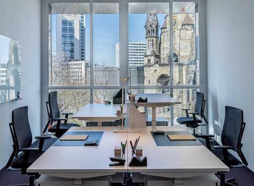 Stilvoll eingerichtete Büroräume für 8 Personen - Auf Zeit oder Dauer - Mit Fullservice!