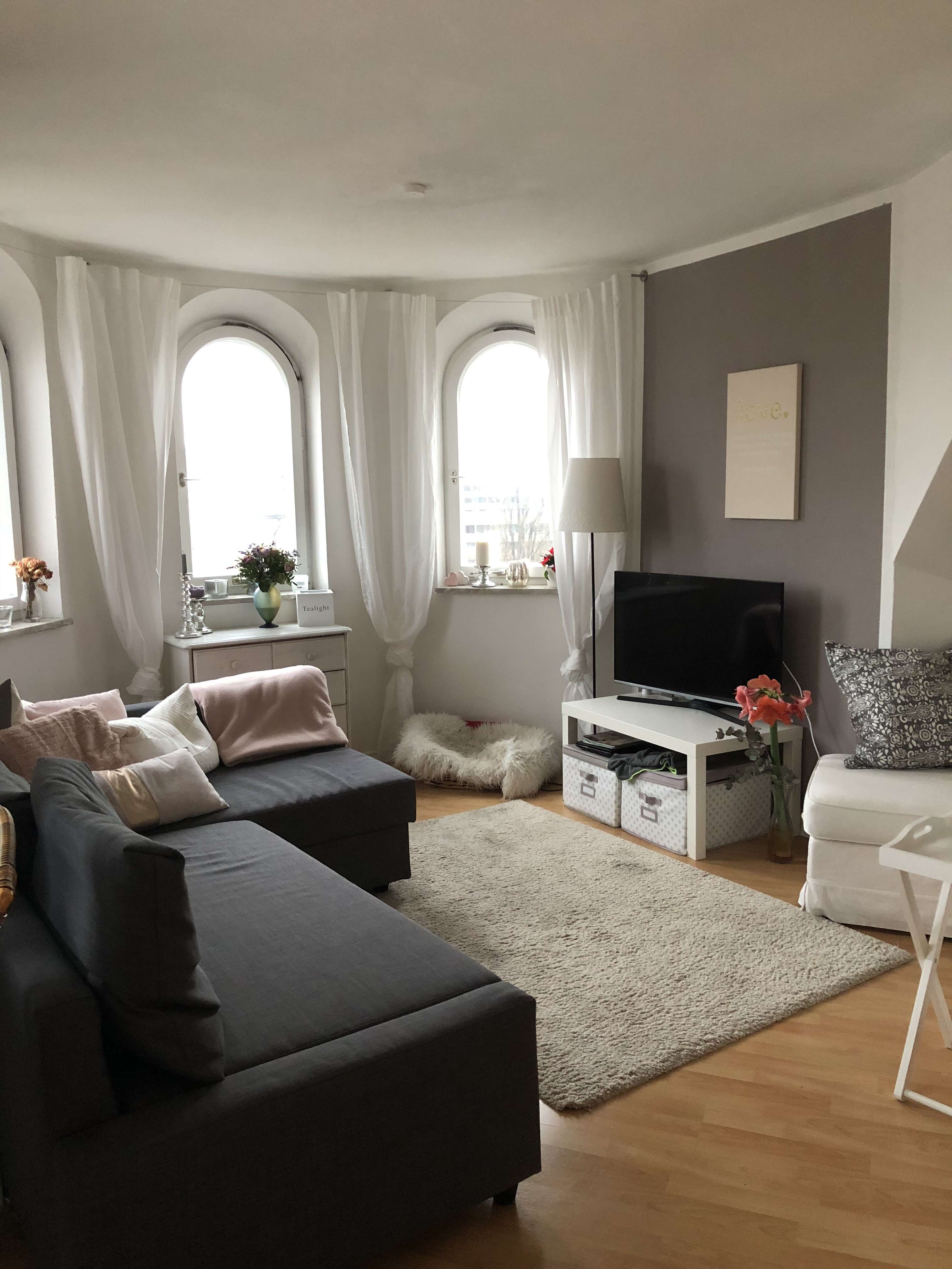 Stilvolle, gepflegte 2-Zimmer-Maisonette-Wohnung in Haidhausen,Nichtraucher!