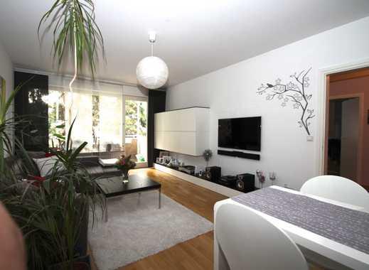 Große, sonnige 2-Zimmerwohnung, Balkon, Parkett, Küche, Badewanne