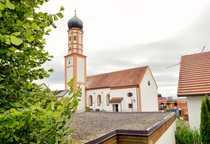 Einmaliges Grundstück mit Kirchenblick in