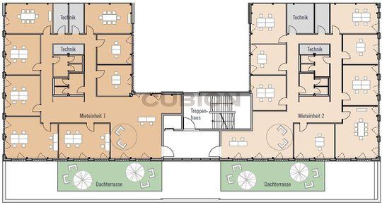 Bauteil 2, 2. Obergeschoss