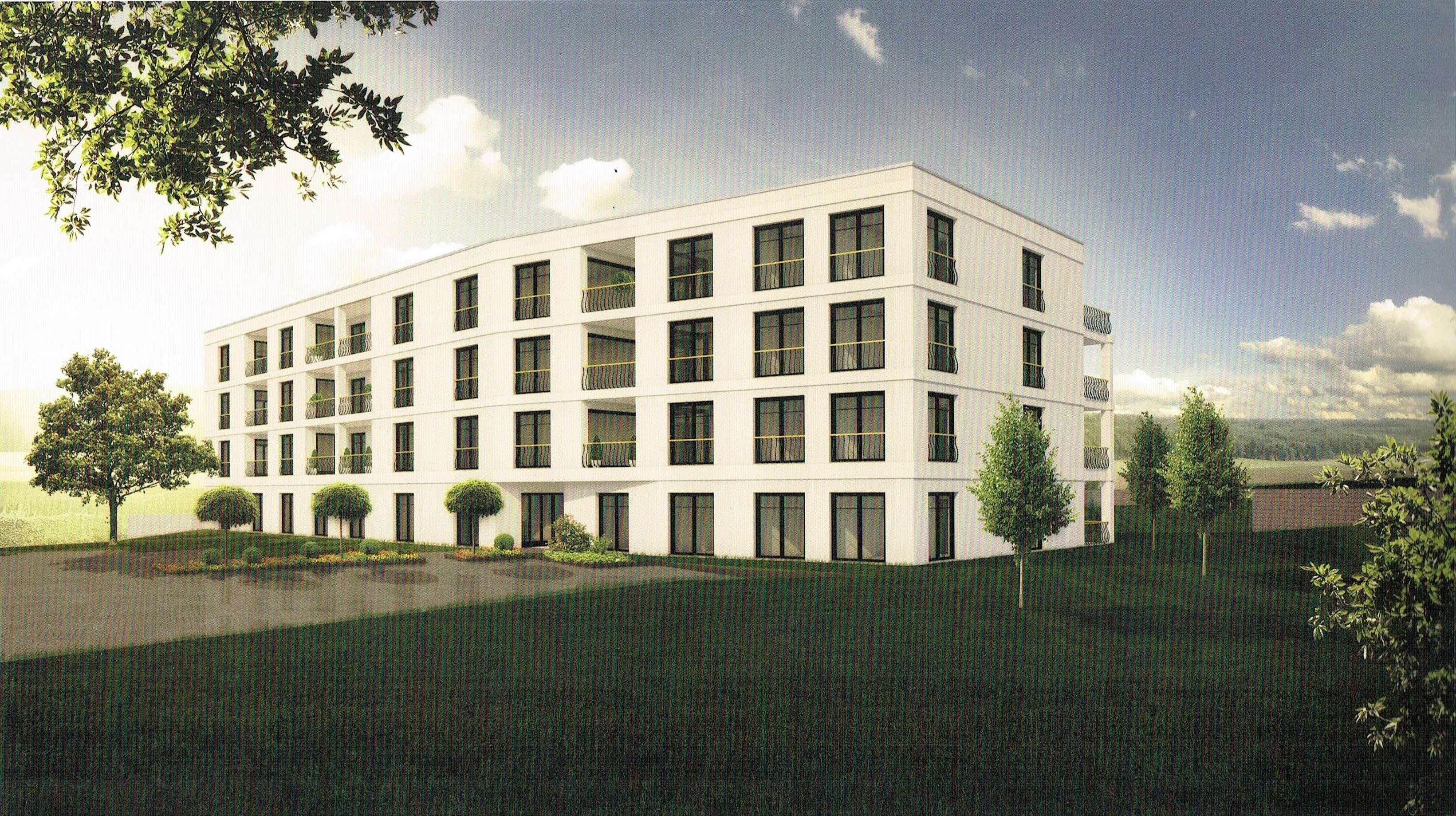 Barrierefreie Wohnung in Kist; Erstbezug mit EBK und großem Balkon in