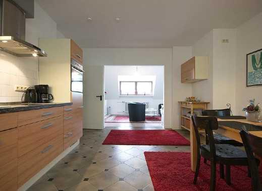 Gut ausgestattete 3-Raum-Wohnung mit 60 Mbit Internetzugang in ruhigem Haus, gute Anbindung an öf...