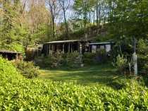 Gepflegtes Gartengrundstück mit Gartenhaus