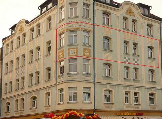 "Erstbezug nach Renov. 3-Zi im Jugendstilhaus  Nbg Nähe U-Bahn ""Hohe Marter"""
