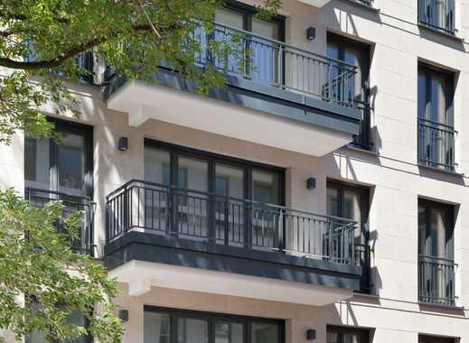 Gartenstraße: Traditionslage am Hofgarten. 4-Zi-ETW im 2. OG mit Direktlift. 2 Bäder. 2 Balkone. TG.