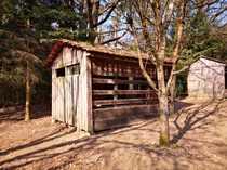 Freizeitgrundstück mit Gartenhütte