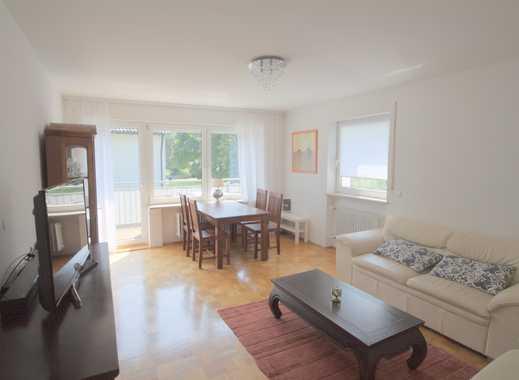 München-West: wunderbare möblierte 3 Zimmer Wohnung in sehr ruhigem Wohngebiet mit Süd-Balkon