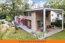 Modernes Einfamilienhaus im Bauhausstil in
